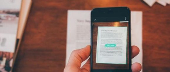 Scan de document depuis un smartphone
