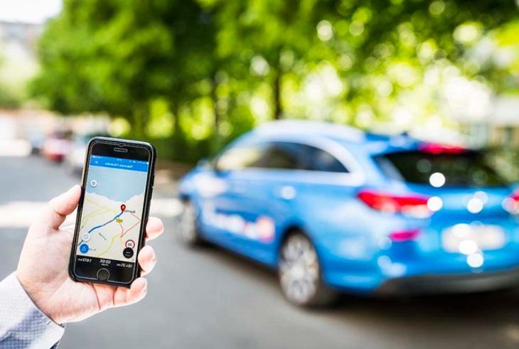 Smartphone et voiture