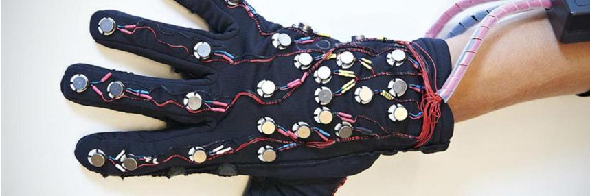 Un exemplaire du smart-glove